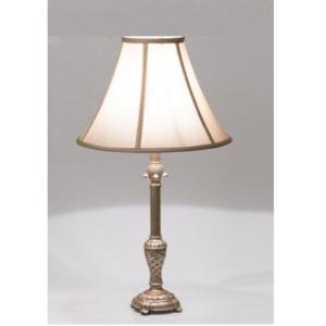 lámpara cesta bronce