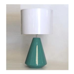 lámpara verde jade