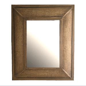 Espejo Rattan trenzado