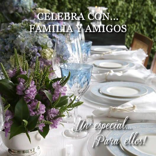 celebracion con familia y amigos