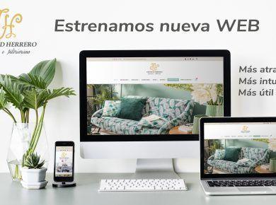 Trinidad Herrero estrena nueva web