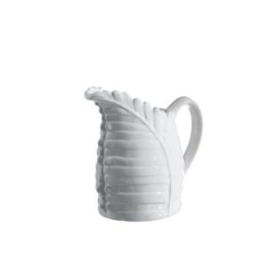jarra hoja blanca
