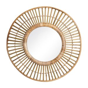 Espejo natural bambú
