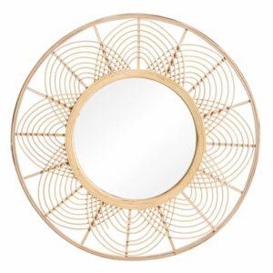 Espejo bambú trama